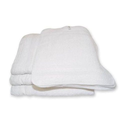 "Textiles Group, Inc. Washcloth 12""X12"" White 12 Pack Model 062 1001"