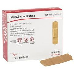 "Cardinal Health Fabri-Flex Adhesive Bandage 3/4"" x 3"""