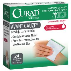 "CURAD Avant Gauze Pads -  4"" x 4"""