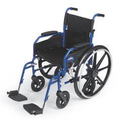 Medline Hybrid 2 Transport Wheelchair Chairs