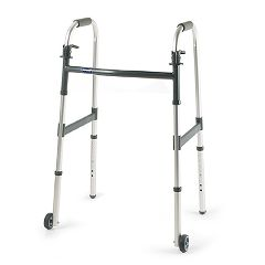 "Invacare I-Class Adult Paddle Walker - 3"" Fixed Wheels"