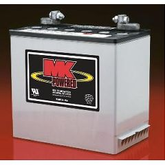 MK 12 Volt - 55 AMP Sealed Light Duty AGM Battery