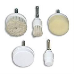 Five Piece Brush Set For 8 Function Skin Care Machine