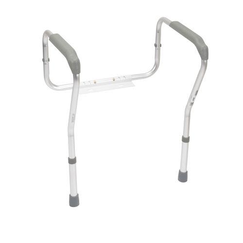 Drive Adjustable Toilet Safety Frame & Rails - Handicap Toilet Seat Bars Model 178 6012