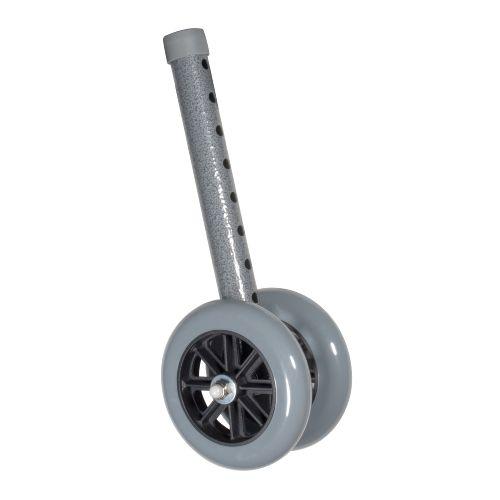 """Drive Heavy Duty Bariatric 5"""" Walker Wheels Model 776 6127"""
