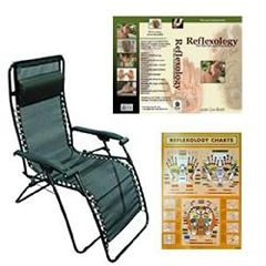 ScripHessco Exclusive 19 Reclining Reflexology System W/ Dvd