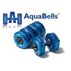 AquaBells Dumbbells - AquaBells Travel Weights