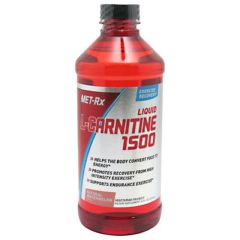 MET-Rx Liquid L-Carnitine 1500 - Natural Watermelon