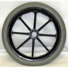 New Solutions 8 Spoke Hard Rubber Wheel - 8 x 1""