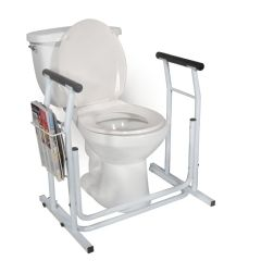 Drive Medical Stand Alone Toilet Safety Rails