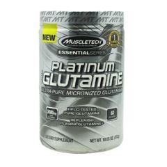 Essential Series MuscleTech Essential Series 100% Platinum Glutamine - Unflavored