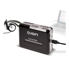Ion Portable Tape To Mp3 Player W/ Headphone