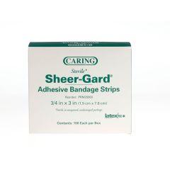 Medline Caring Plastic Adhesive Bandages