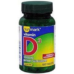 Sunmark Vitamin D-3 Tablet