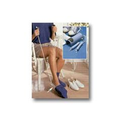 "Sammons Preston Sock and Stocking Aid w/ Built-Up Foam Handles - Adult, 9 1/2"" L 33"" Cord *Special Limited Time Only Pricing!*"