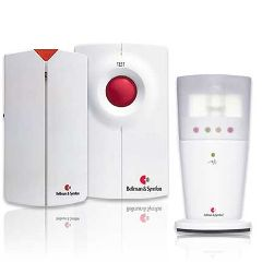 Bellman And Symfon Asia Ltd Bellman & Symfon Visit Alerting with Flash Receiver for Phone and Door Chime