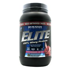 Elite Dymatize Elite 100% Whey Protein - Strawberry Blast