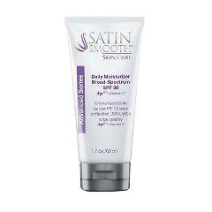 Satin Smooth Skincare Daily Moisturizer SPF 30 1.7oz.