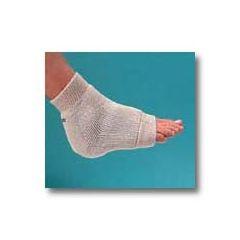 "Mabis DMI Heelbo® Premium Gel Heel/Elbow Protector - Large, White, fits limb circumfrence 9 1/2"" to 19"""
