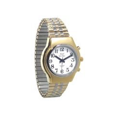 Royal Men's Royal Tel-Time One Button Talking Watch w/Expansion Band