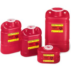 BD Red Sharps Disposal Container - 6.9 qt.