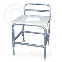 ConvaQuip Bariatric Shower Stool - 850 lb. Capacity