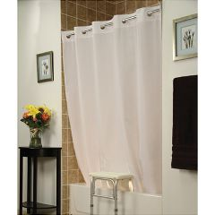Invacare Benchbuddy Hookless Shower Curtain - White