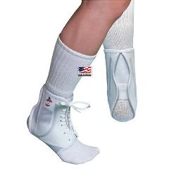 Core Products Core Hi-Flexibility Ankle Support, White