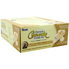 Advance Nutrient Science Advanced Nutrient Science INTL Gourmet Cheesecake Protein Bar - Chocolate Coconut Cheesecake