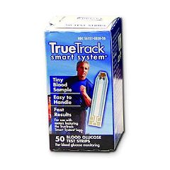 Invacare Supply Group TRUEtrack Blood Glucose Test Strips  50-Count