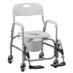 Nova Deluxe Shower Chair Commode