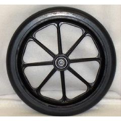 "New Solutions 8 Spoke Urethane Round Wheel - 8 x 1"""