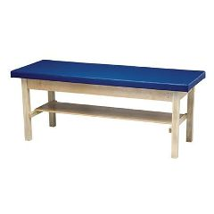 Bailey Manufacturing H-Frame Treatment Table With Shelf