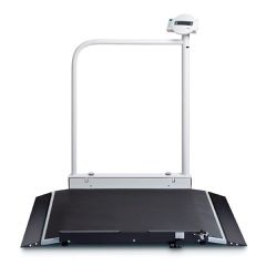 Seca Electronic Wheelchair Scale with Handrail & Transport Castors
