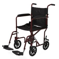"Aluminum Transport Chair with 8"" Wheels"