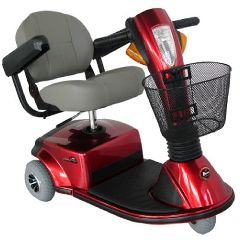 Zip'r Breeze 3 Wheel Heavy Duty Scooter
