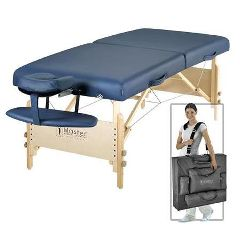 "30"" Catalina  LX Portable Massage Table Package Royal  Blue"