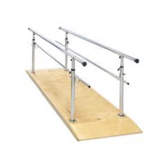 Fabrication Parallel Bars, Wood Platform, Height Adjustable, 10 Foot