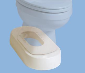 The Toilevator Toilet Riser