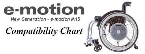 E-Motion M15 Power Assist Wheels