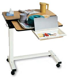 Split Top Overbed Table Allegro Medical Supplies