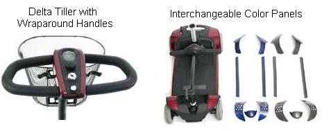 Pride Go Go Elite Traveller Plus Scooter Features