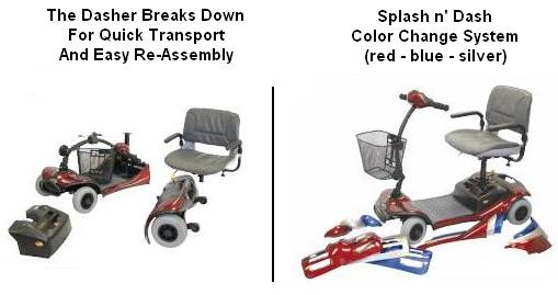 Shoprider Dasher 4 Scooter Disassembly