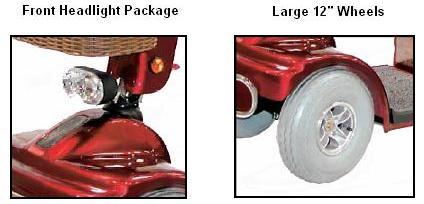 Shoprider Sprinter XL4 Additional Scooter Features