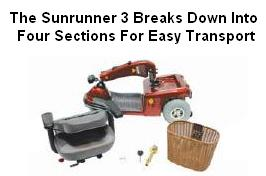 Shoprider Sunrunner 3 Scooter Disassembly