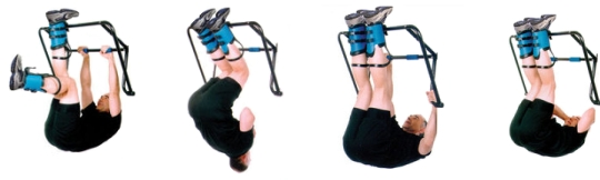Teeter Hang Ups EZ-UP Inversion Rack Features