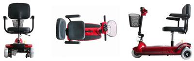 Zip'r 3 Xtra Hybrid Scooter Features
