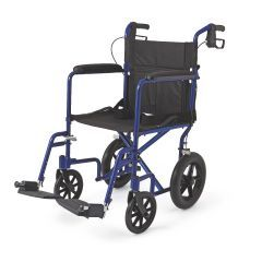 Aluminum Transport Chair with 12