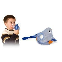 PARI LC Reusable Nebulizer with Bubbles the Fish II Pediatric Mask - Each