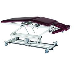 Treatment Table - Electric Hi-Low, 5-Section with Bar Activated Switch - Treatment Table - Electric Hi-Low, 27 X 76 X (24-33)